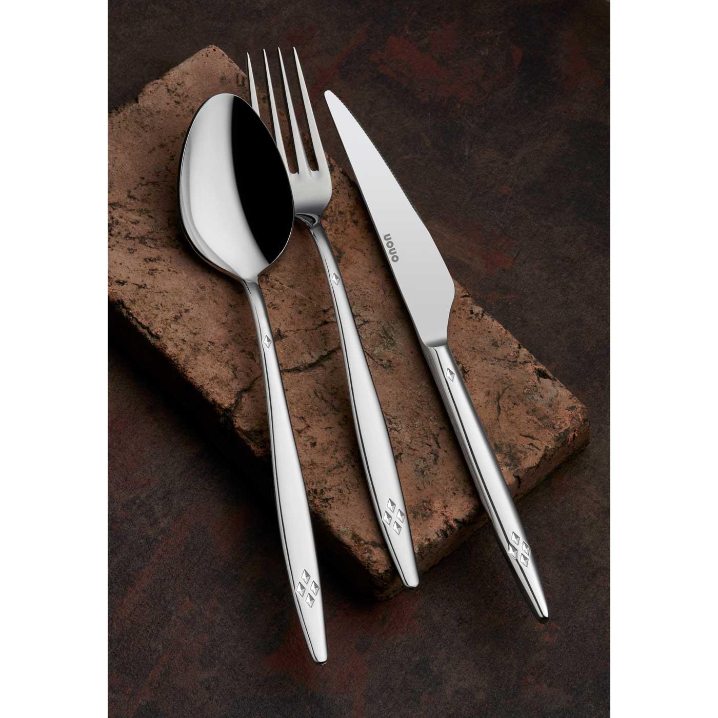 ONON Mira Sade 24 Parça Çatal Kaşık Bıçak Takımı 2