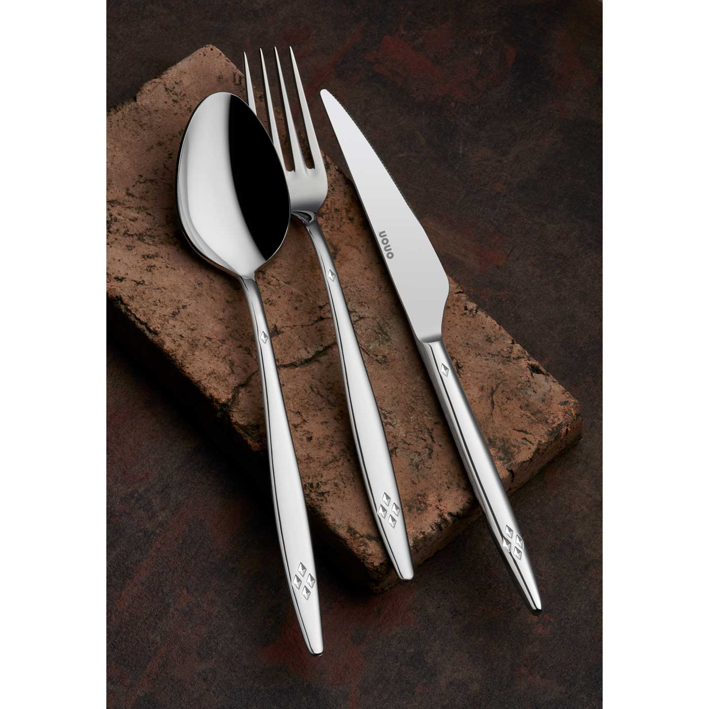 ONON Mira Sade 12 Adet Yemek Çatalı 2