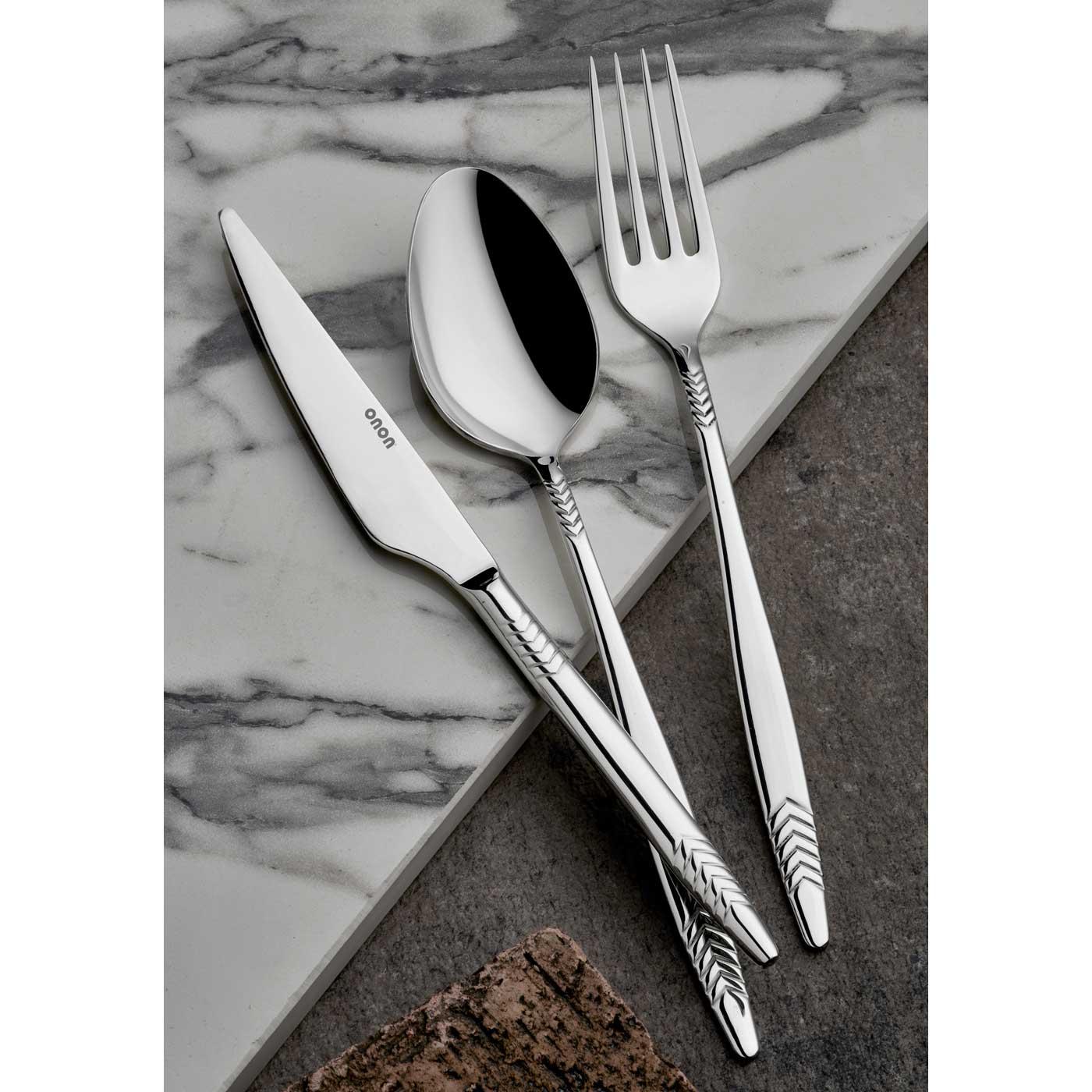 ONON Hera Sade 12 Adet Yemek Bıçağı 2