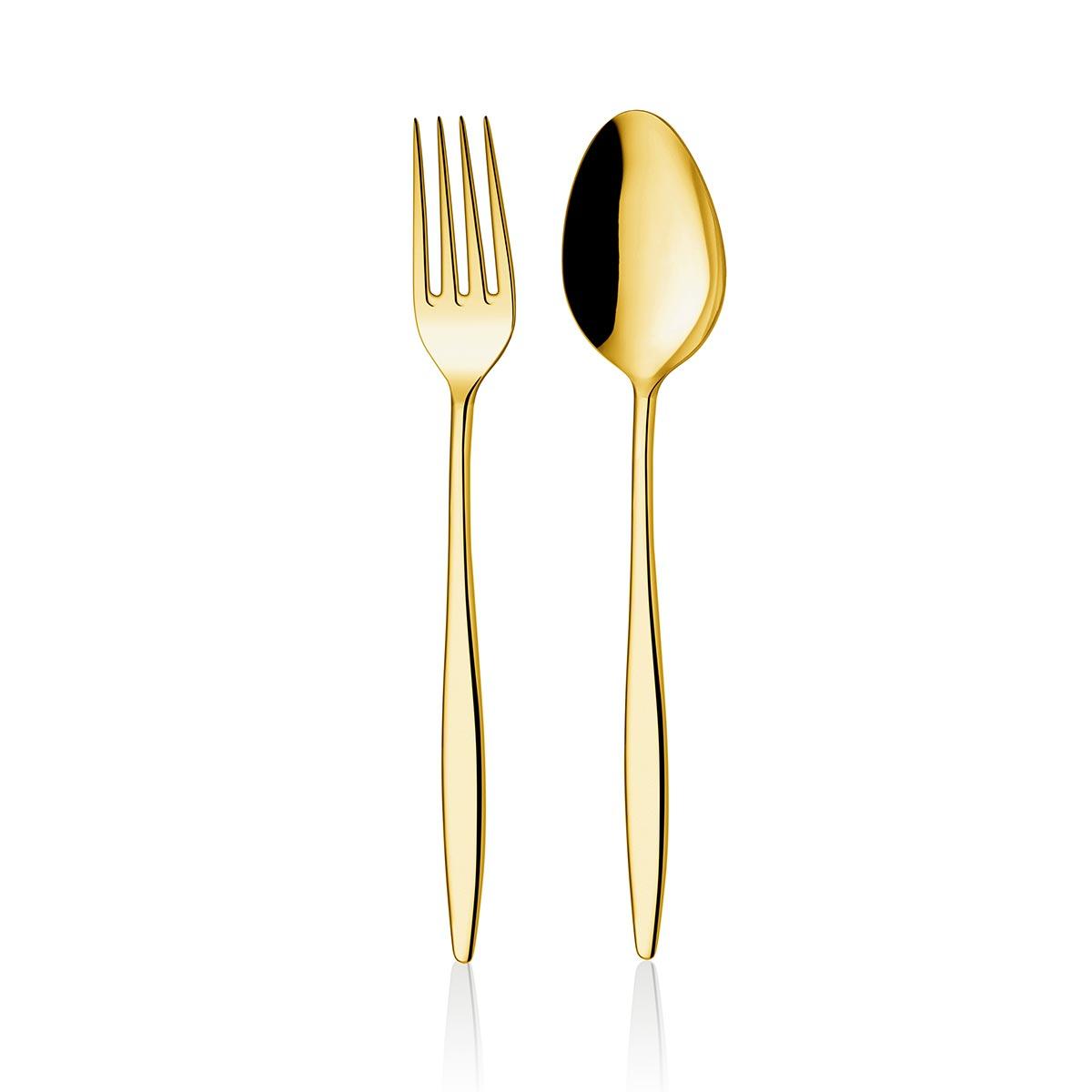 ONON Assos Altın Titanyum 60 Parça Çatal Kaşık Takımı 1