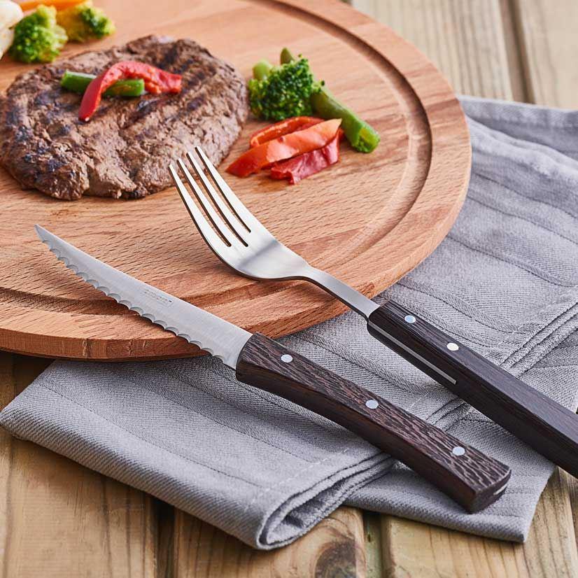 Steak Çatal ve Bıçak 2 Adet Set 2